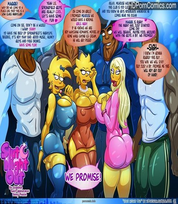 Porn Comics - Slut Night Out -Simpsons [Kogeikun] free Cartoon Porn Comic